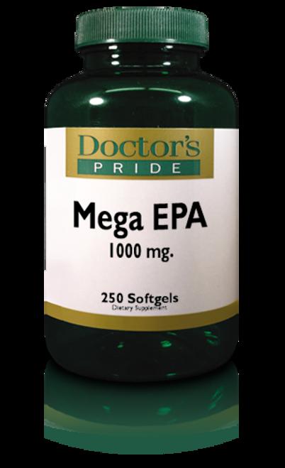 Fish Oil 1X (Single Potency) Mega EPA 1000 - 250 Softgels (3835D)