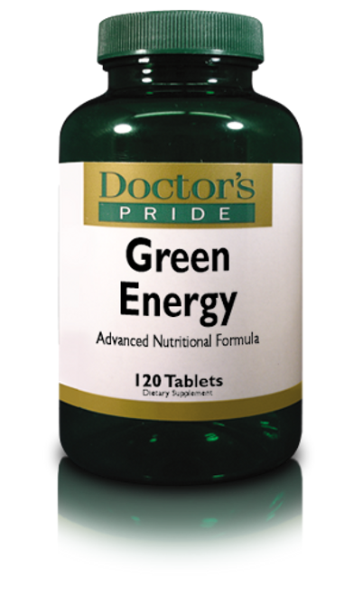 GREEN ENERGY Superfoods With Spirulina, Chlorella, Chlorophyll, Wheat Grass and More. (A8281D)