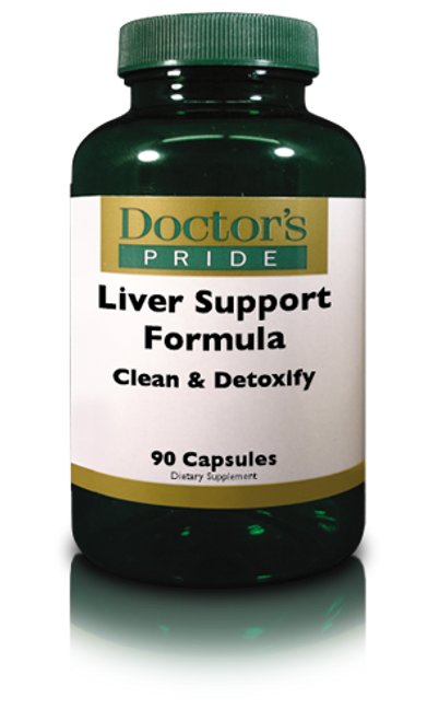 Liver Support Formula - Clean & Detoxify (AB7620D)