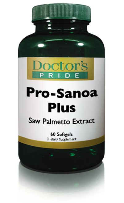 PRO-SANOA (Saw Palmetto)PLUS Pygeum and More. (AB2361D)