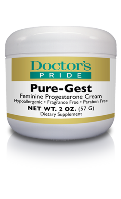 PURE-GEST PROGESTERONE CREAM. (AB2410D)