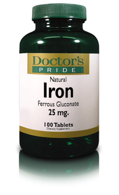 Iron Tablets 5 Grains (Ferrous Gluconate) (1200D)
