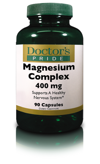 Magnesium Complex 400 MG (Aspartate, Citrate & Oxide) (AB5170D)