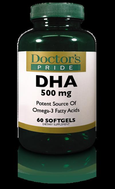 DHA (Docosahexaenoic Acid) 500 MG (A8841D)