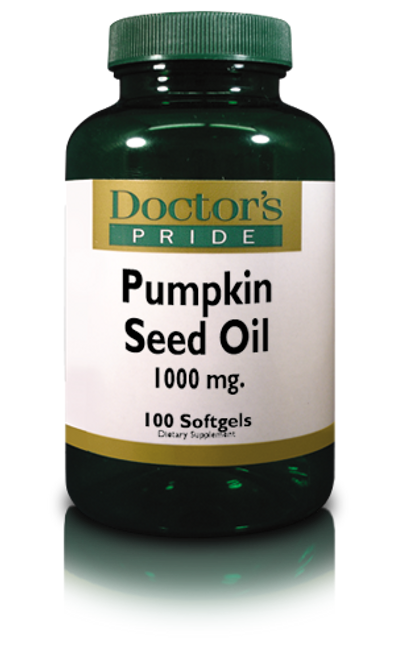 PUMPKIN SEED OIL SOFTGELS 1000 MG. (A8440D)