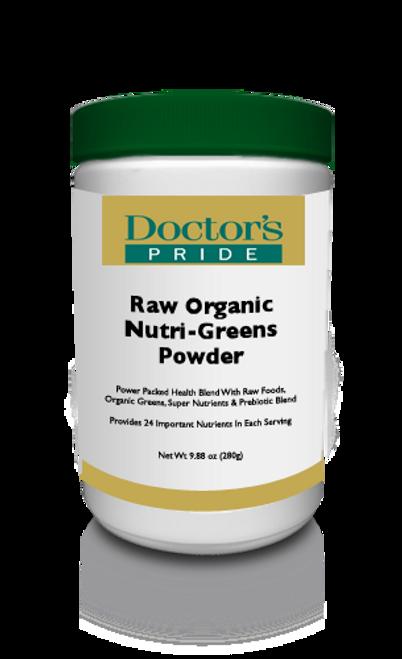 Raw & Organic Nutri-Greens Powder (A8231D)