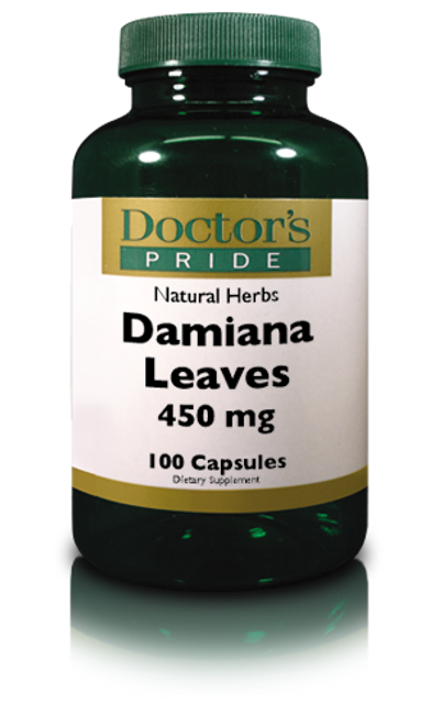 DAMIANA LEAVES 450 MG. (NC2010)