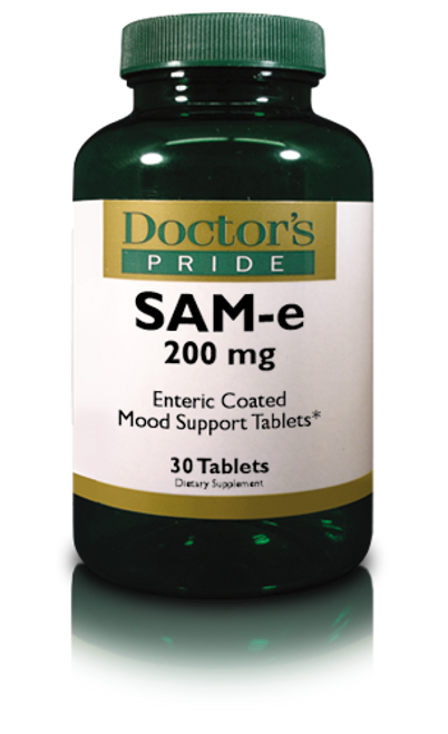 SAM-E 200 MG Enteric Coated Tablets. (AB7050D)