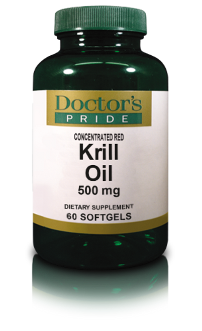 KRILL OIL 500 MG (MEGA STRENGTH RED KRILL SOFTGELS). (AB7175D)