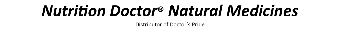 Nutrition Doctor - Natural Medicines