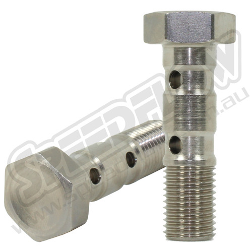M10 Double Banjo Bolts for 10mm Banjo From:
