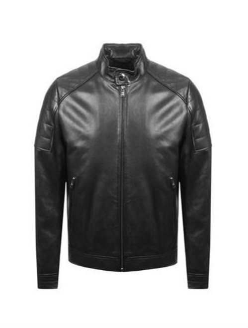 BOSS LEATHER JKT - GETANI - 50393054