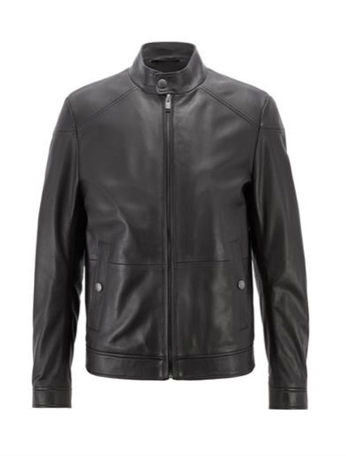 BOSS LEATHER JACKET NOCAN 50393053