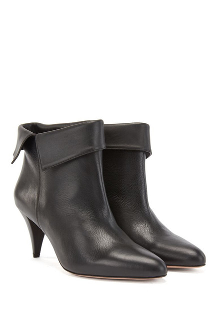 BOSS LEATHER BOOTS CARLYE BOOTIE 50441549