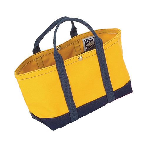 Cute custom canvas handbag made in Maine perfect for projects.