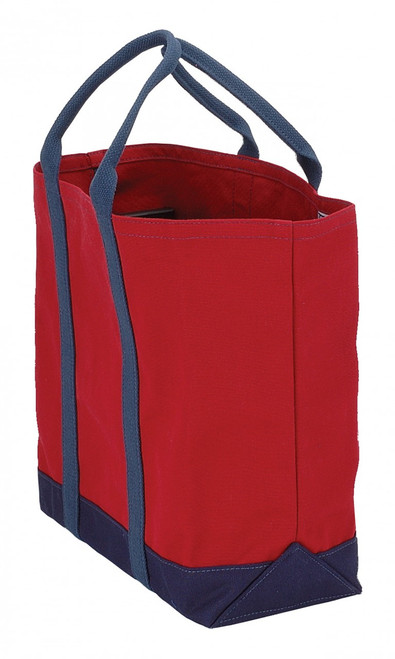 Large canvas totes made in Maine by the Port Canvas Company.