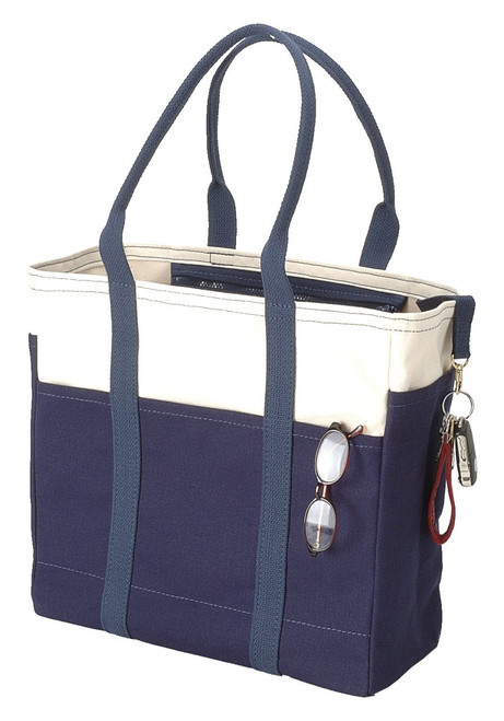 Beach bags and totes made in Maine by the Port Canvas Co.