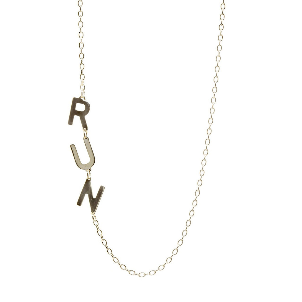 RUN Asymmetrical Necklace