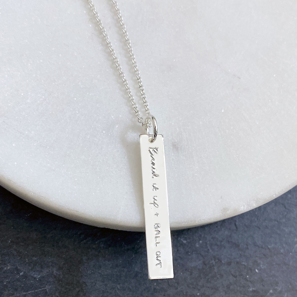 """Braid it up + BALL OUT."" - Colleen Quigley