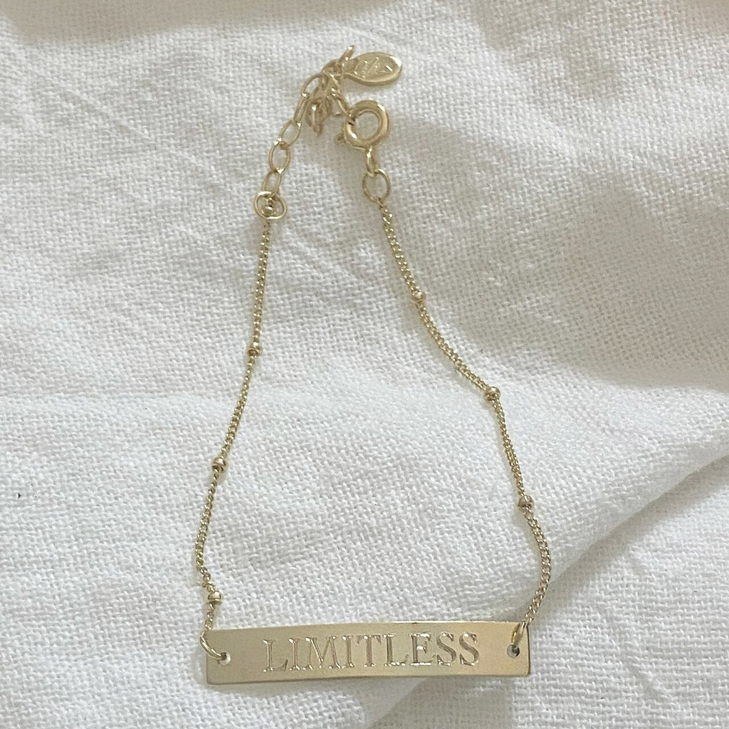PERSONALIZED Inventory Sale ID Bracelet (Rose Gold)
