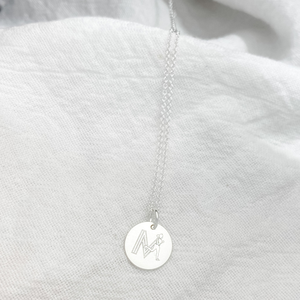 Made To Move Disc Charm/ Necklace