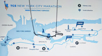New York City 26.2 Course Necklace