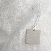 RBG Square Charm/Necklace
