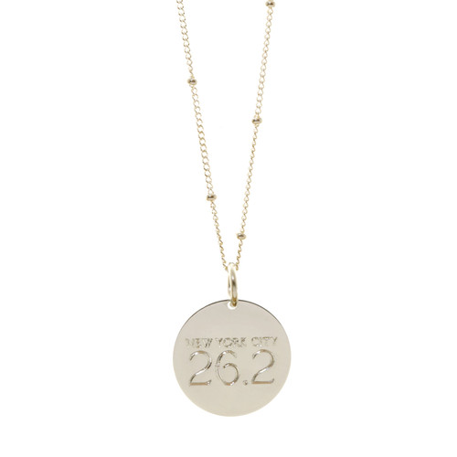 NYC 26.2 Charm/Necklace