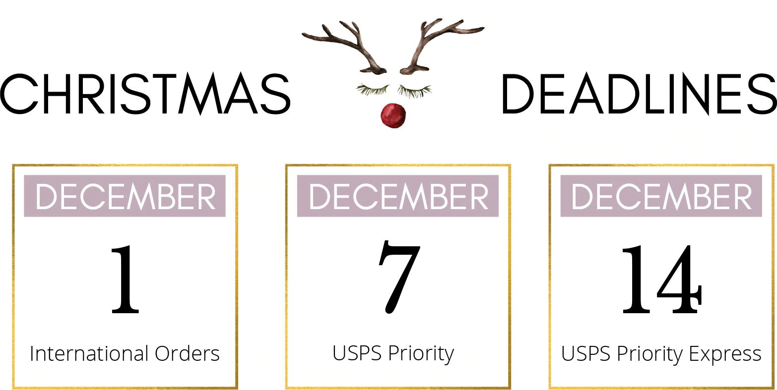 2020 Christmas gift ordering deadlines