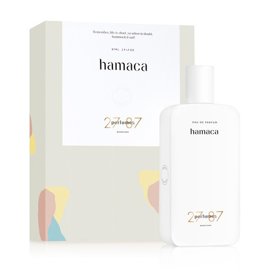 27 87 Perfumes Barcelona Hamaca EDP 87ml boxed