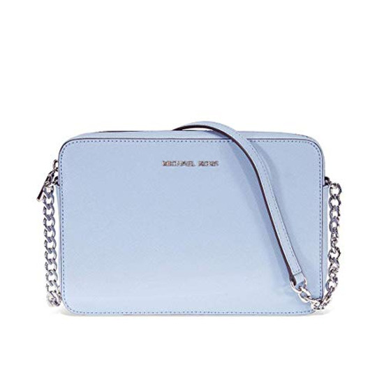 Michael Kors Jet Set East West Crossbody Bag Powder Blue