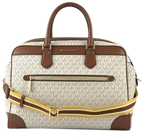 Michael Kors Travel Large Weekender Vanilla