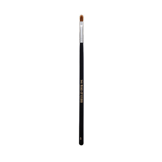 Make Up Studio Lip Brush Filbert Shape Meduim No 45