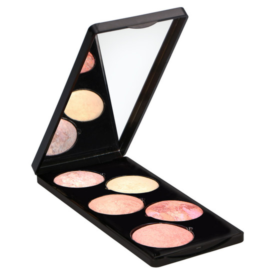 Makeup Studio Highlighter Palette Peach Fusion