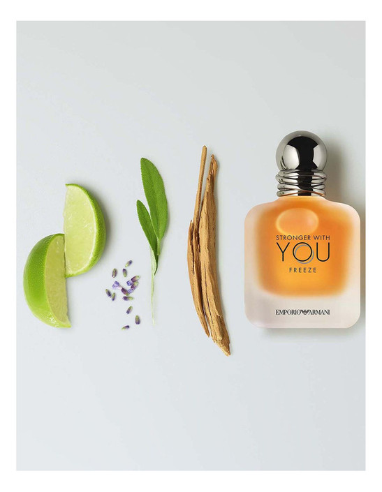 Emporio Armani Stronger With You Freeze visual