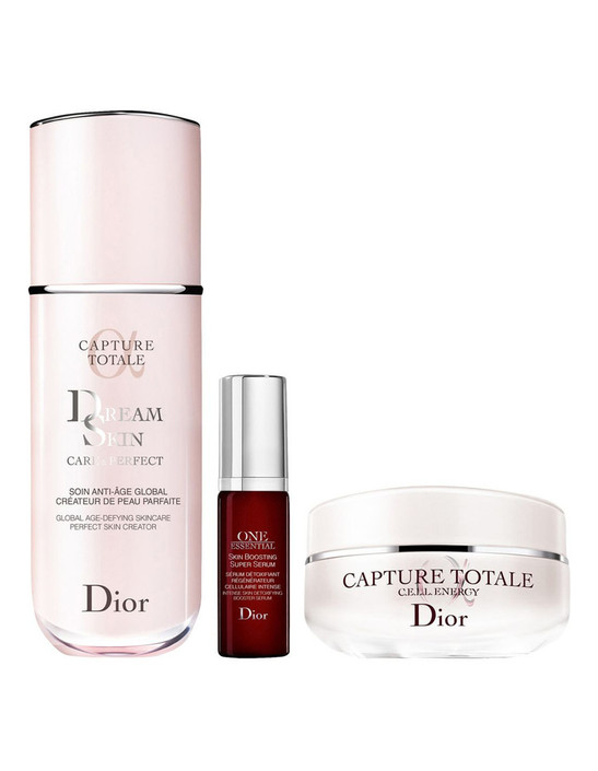 Dior Capture Totale Dreamskin Detoxifying Serum, Age-Defying Fluid & Firming And Wrinkle-Correcting Creme Set product