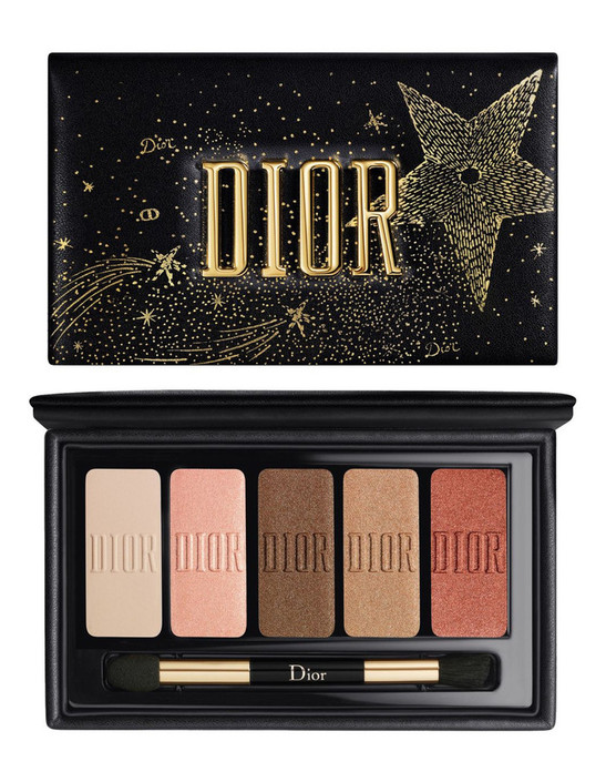 Dior Sparkling Couture Palette Eye Makeup Palette Essentials For Sparkling Eyes 5 Eyeshadows