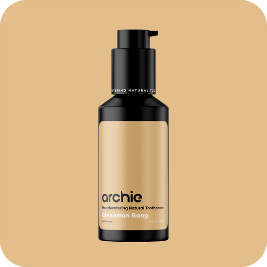 Archie Toothpaste Cinnamon Bang 100ml background
