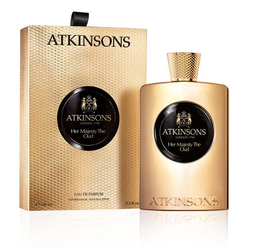 ATKINSONS Her Majesty the Oud EDP 100ml boxed