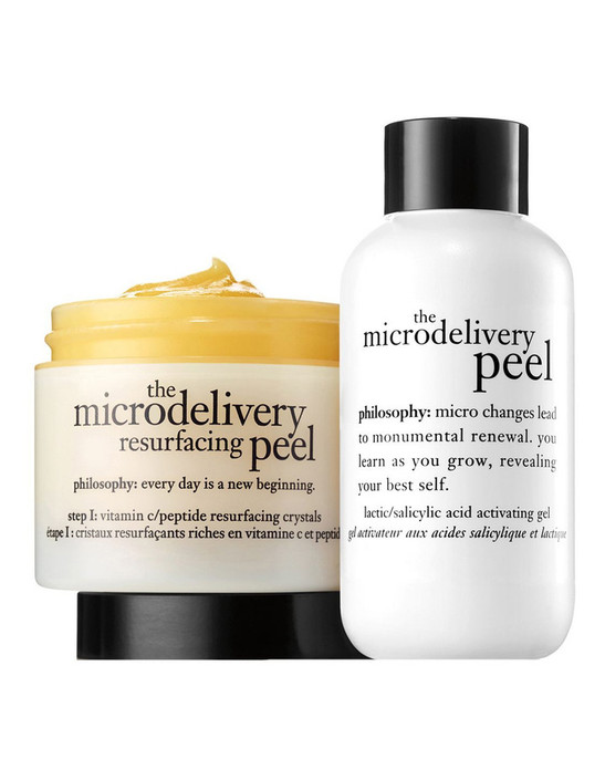 Philosophy The Microdelivery In Home Vitamin C Peptide Peel Kit 60ml + 60ml