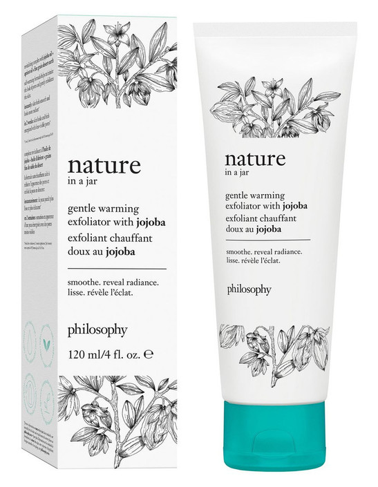 Philosophy Nature in a Jar Gentle Warming Exfoliator With Jojoba 120ml