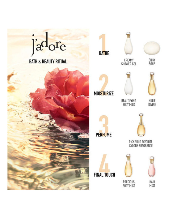 Dior J'adore body products