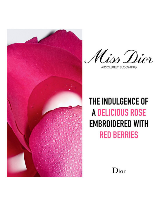 Dior Miss Dior Absolutely Blooming information