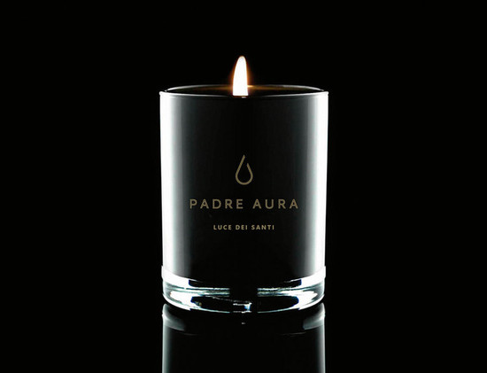 Padre Aura Luce Di Santi Triple Scented Soy Candle