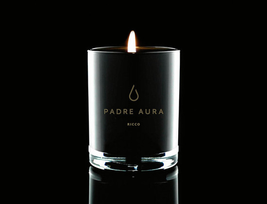 Padre Aura RICCO Triple Scented Soy Candle