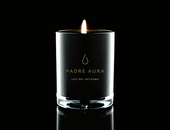Padre Aura Luce Del Vaticano Triple Scented Soy Candle  400g
