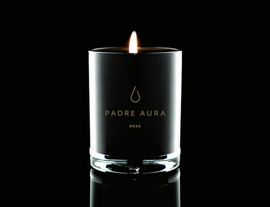 Padre Aura ROSA Triple Scented Soy Candle