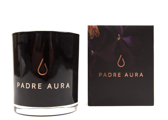 Padre Aura Nera Orchidea Triple Scented Soy Candle