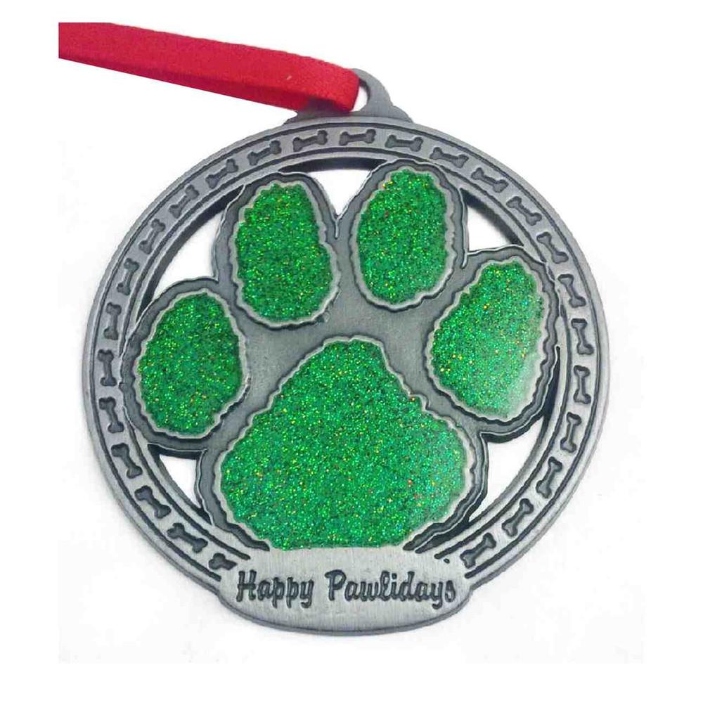 Sparkle Paw Ornament