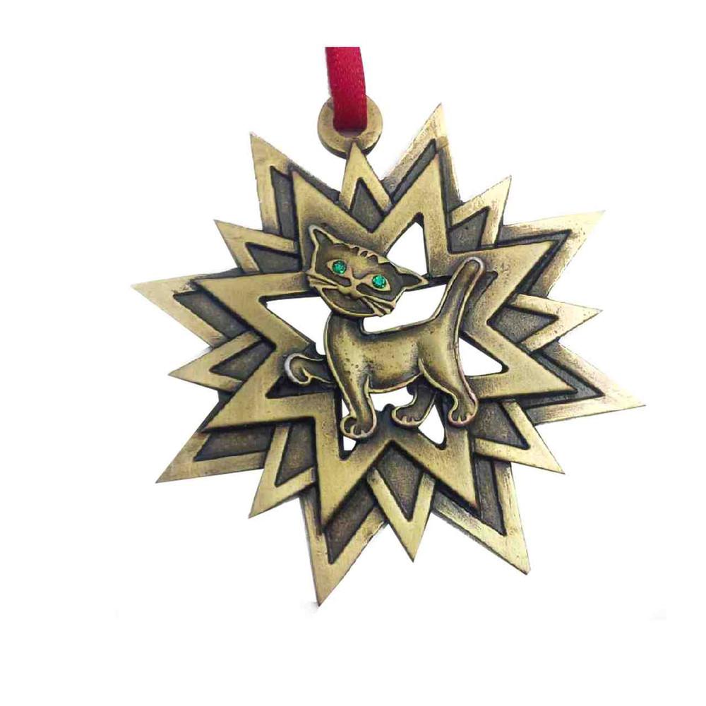 Star Cat Ornament
